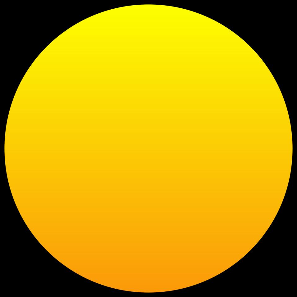 Clipart sun orange. Public domain clip art