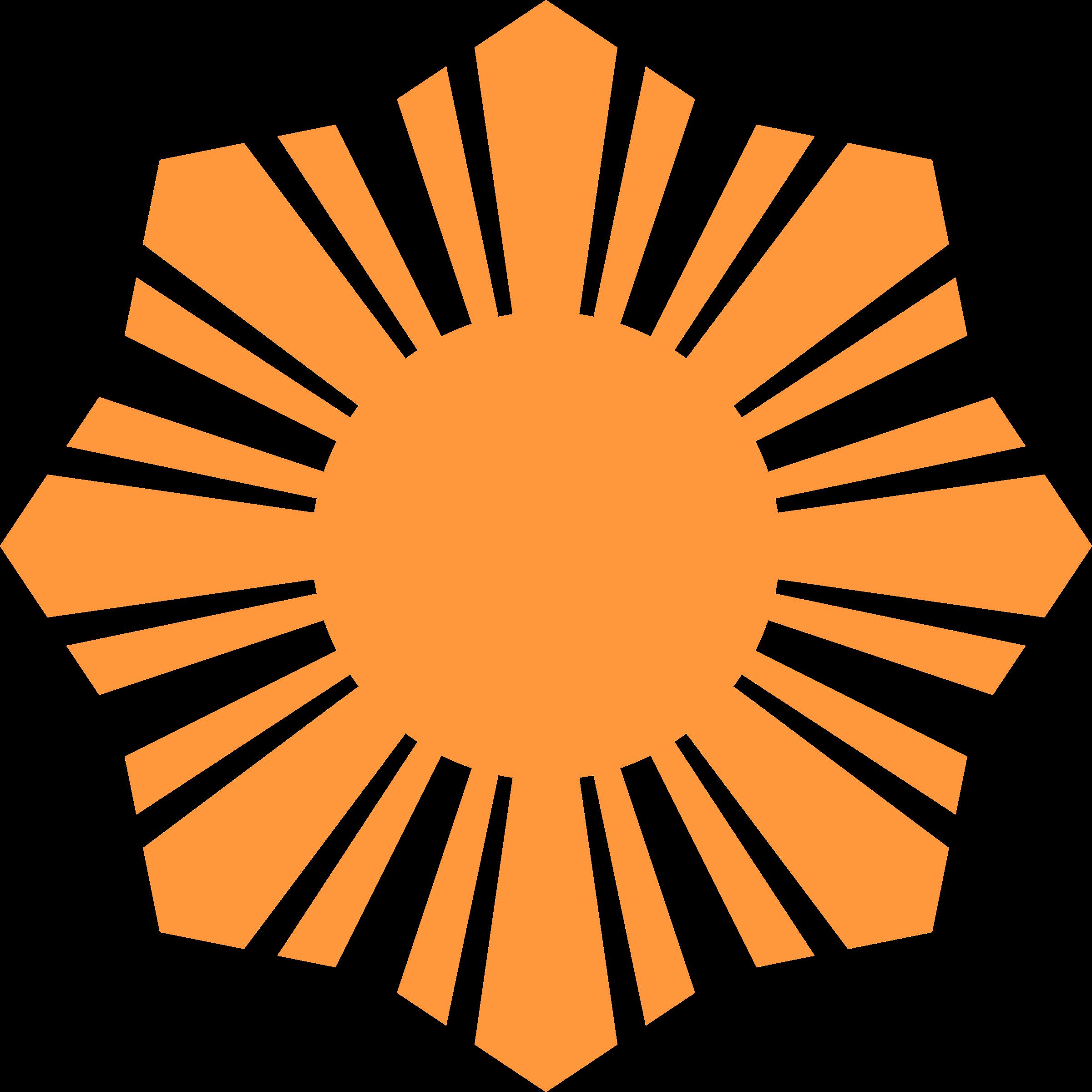 Symbol big image png. Clipart sun orange