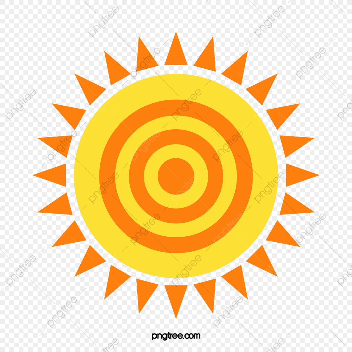 Clipart sun pattern. Drawing watercolor png and