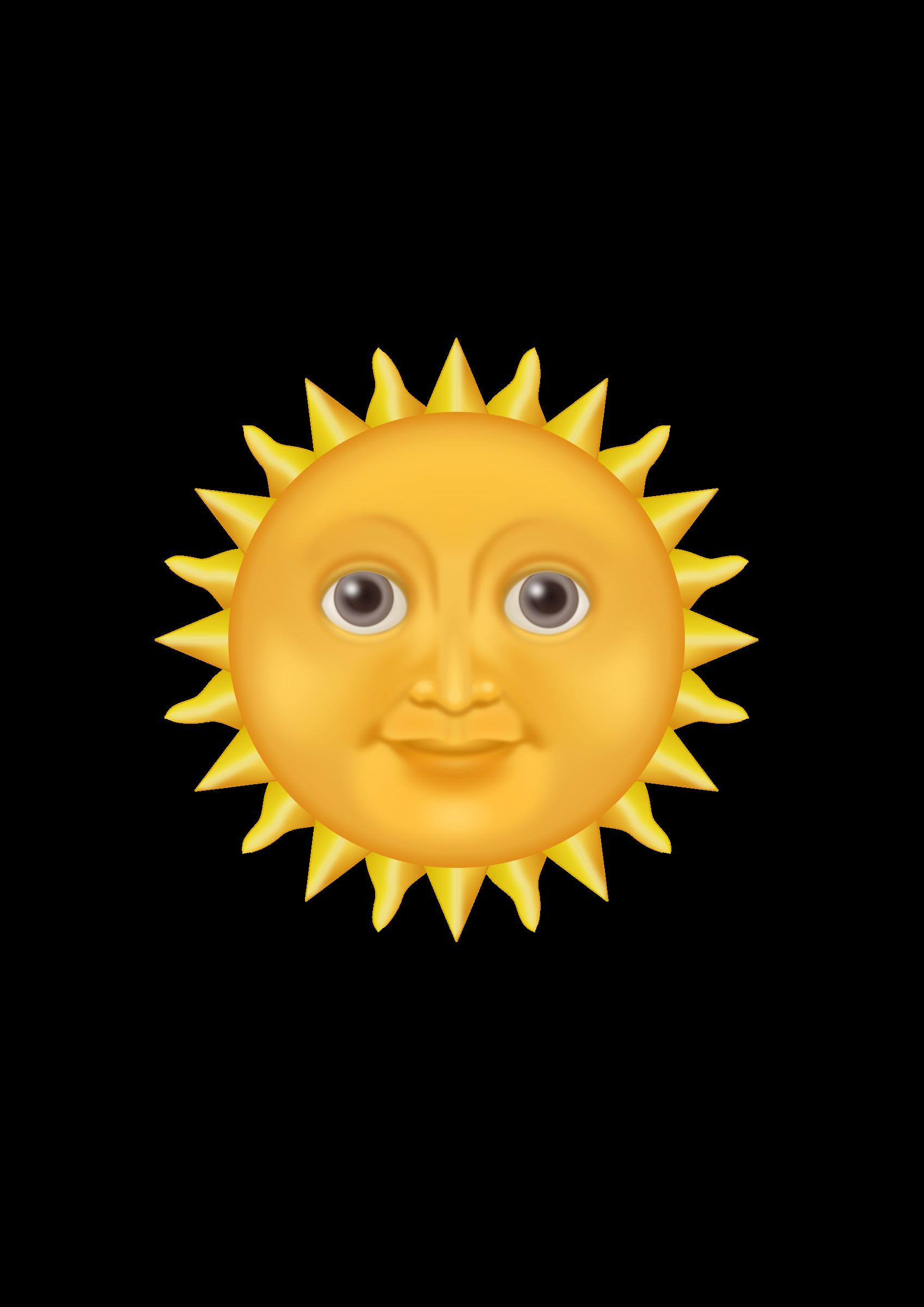Clipart sun pdf. Emote big image png