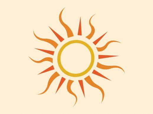 Clipart sun pdf. Free graphics download clip