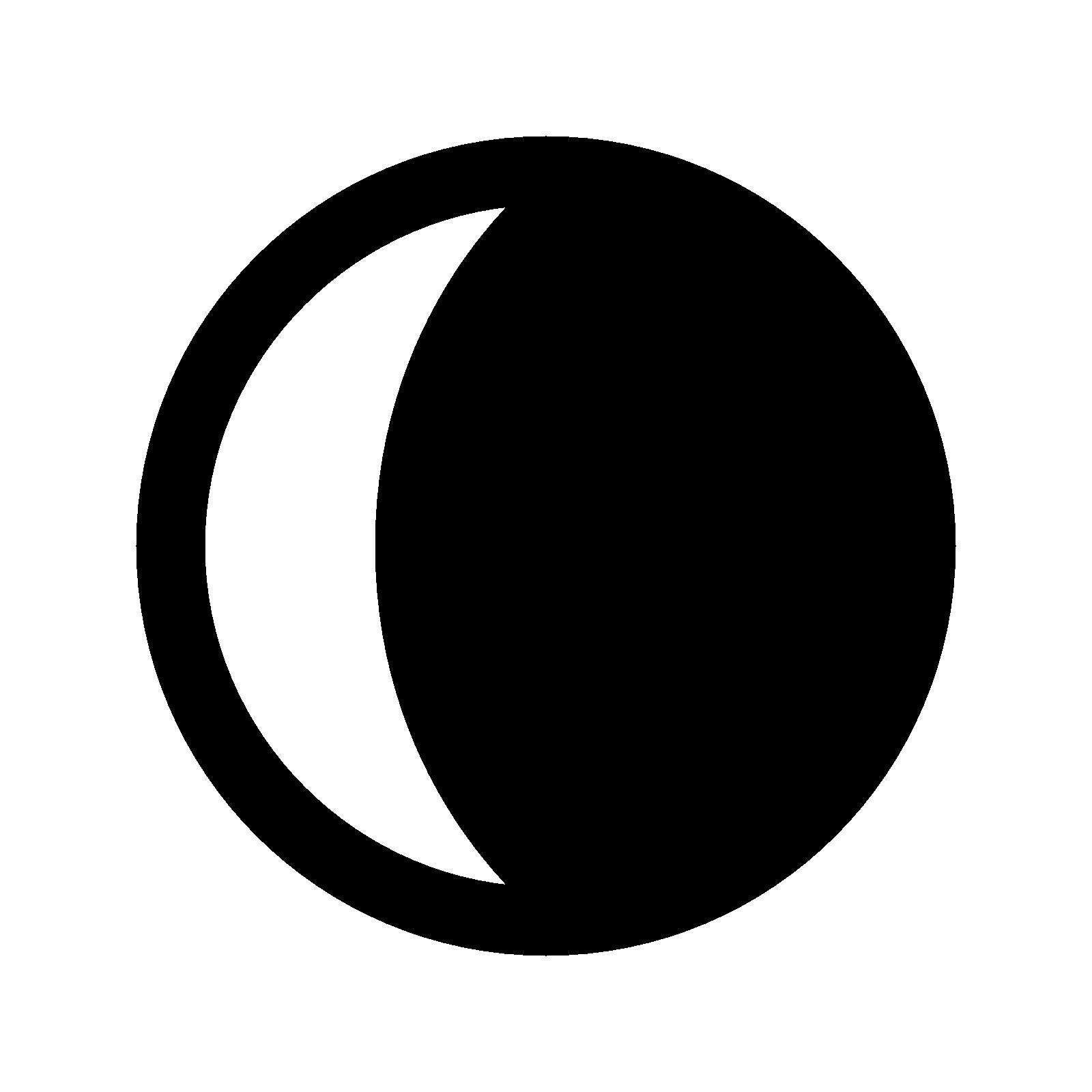 Clipart sun quarter. Images of moon spacehero