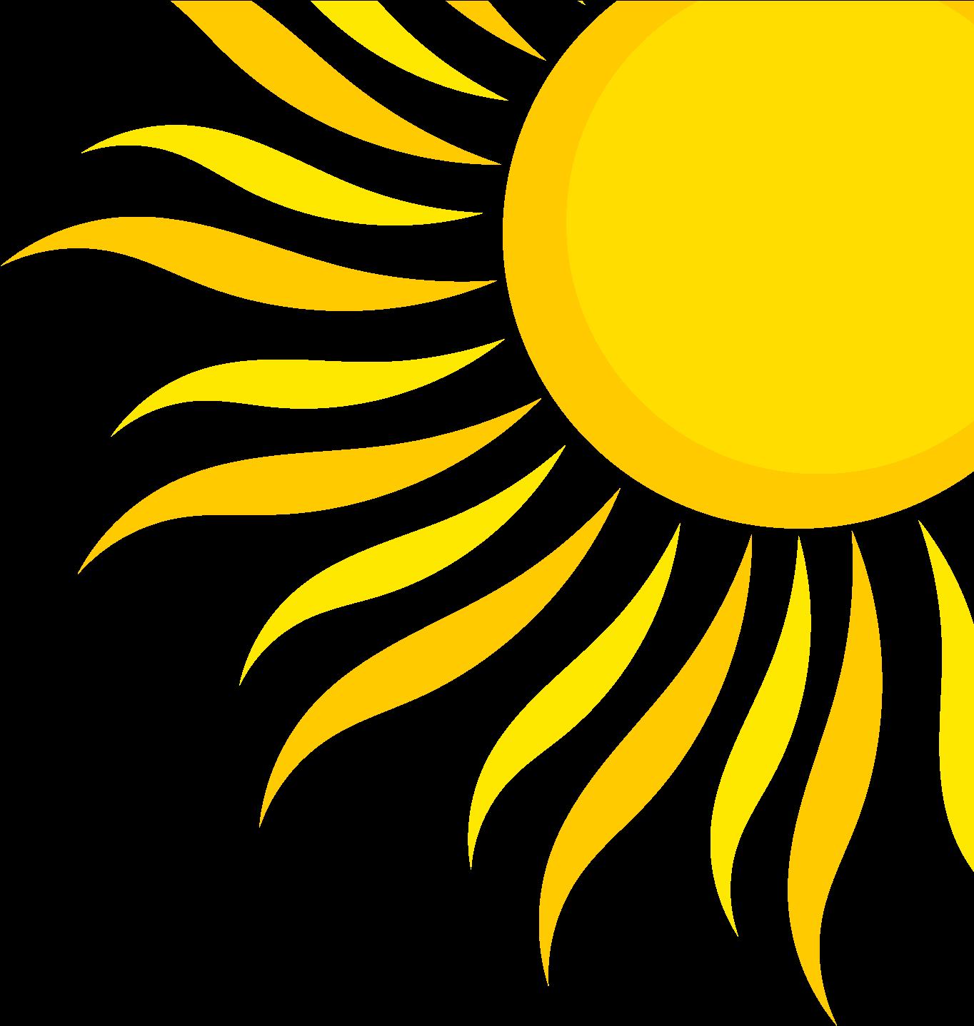 Quarter summer png transparent. Clipart sunshine sun shine