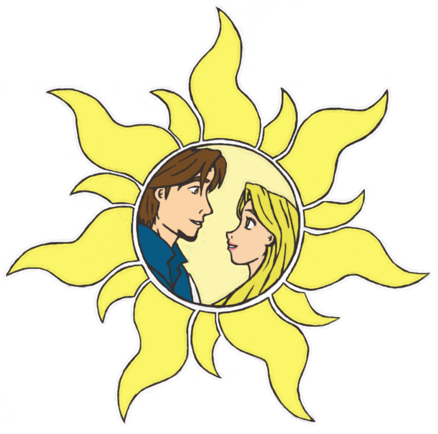 Clipart sun rapunzel. Tangled no background by