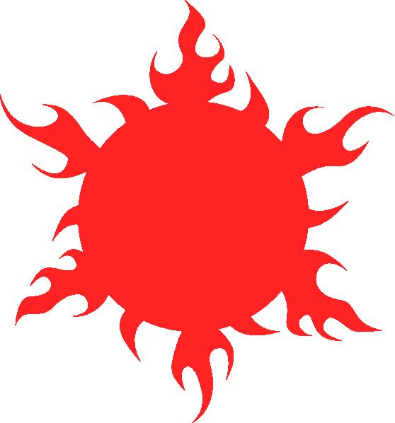 Fireball clipart fire blaze. Blazing sun clip art