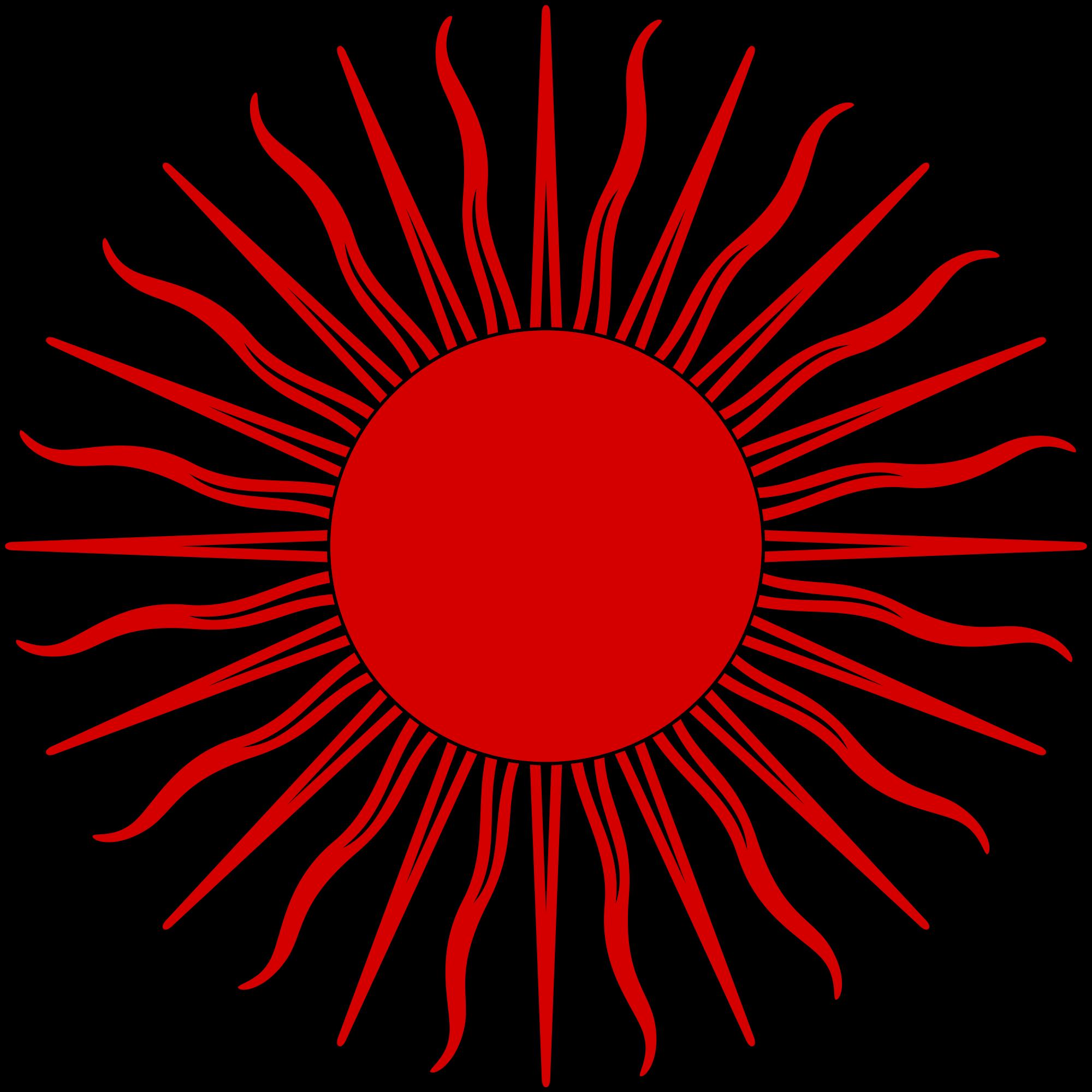 File sun symbol red. Firework clipart svg