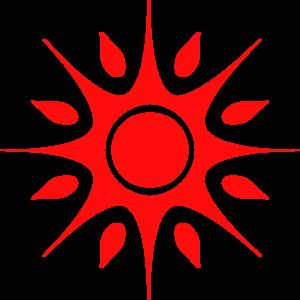 Clipart sun red. Free cliparts download clip