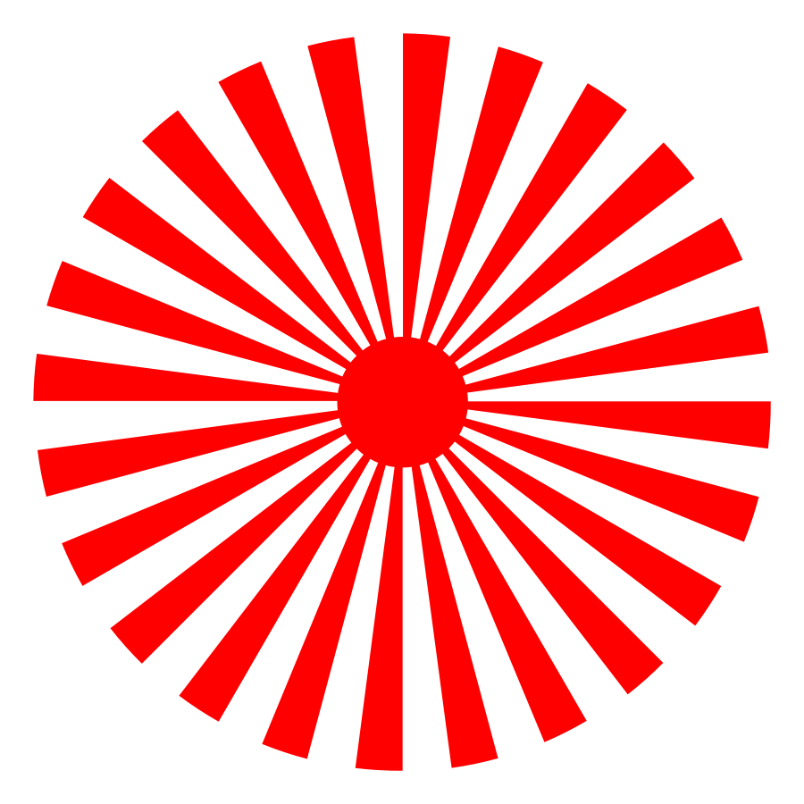 Rays transparent png pictures. Clipart sun red