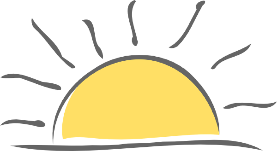Sun rise free download. Sunset clipart sunset wallpaper