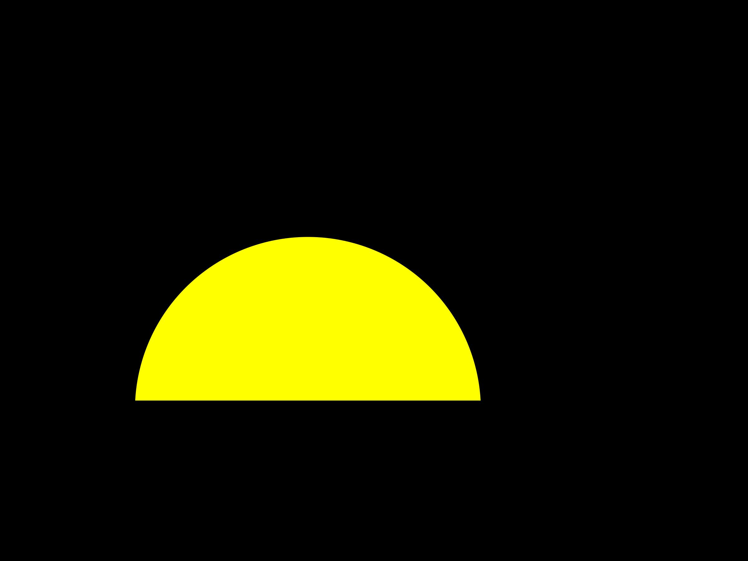 sunset clipart sundown