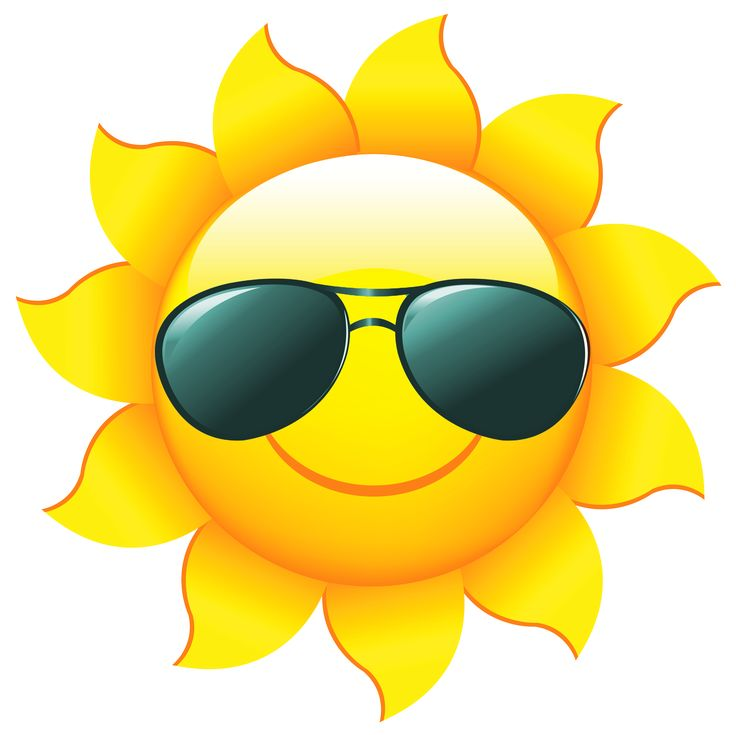 Clipart sun side. Smiling images free download