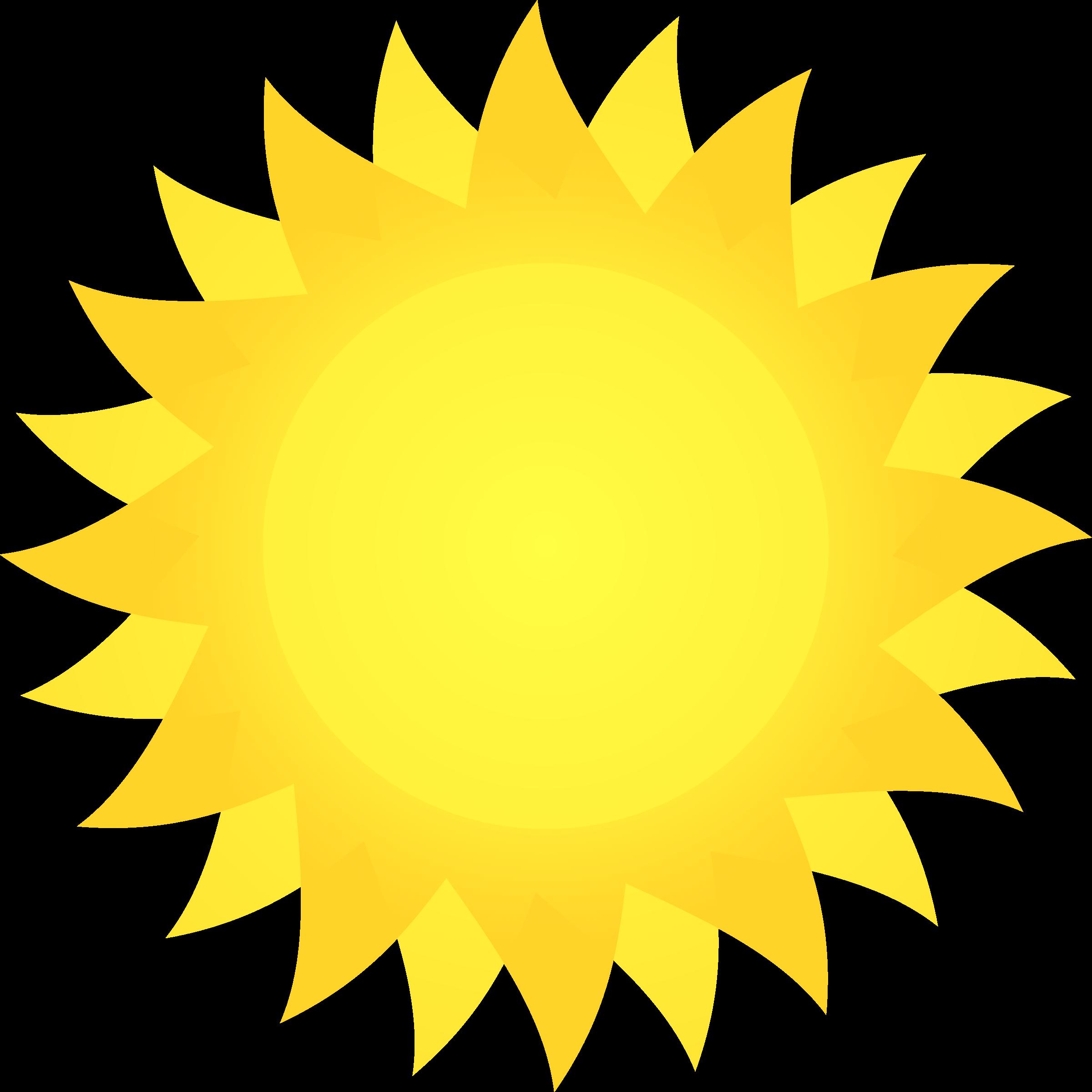 Sunny clipart scene sunny. Sun big image png