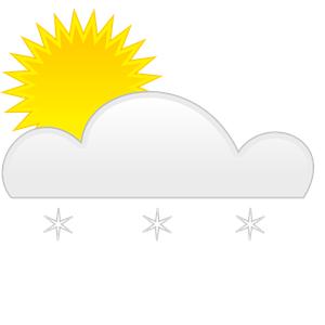 Free cliparts download clip. Clipart sun snow