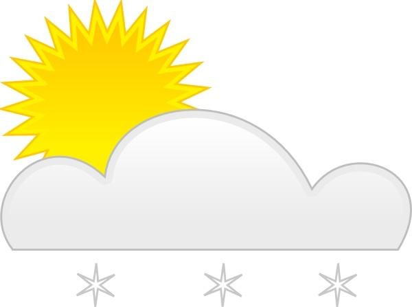 Clipart sun snow. Clip art free vector