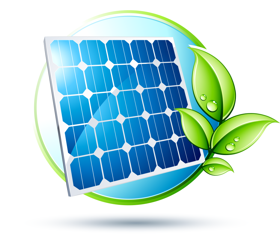 watt generator system. Energy clipart solar array