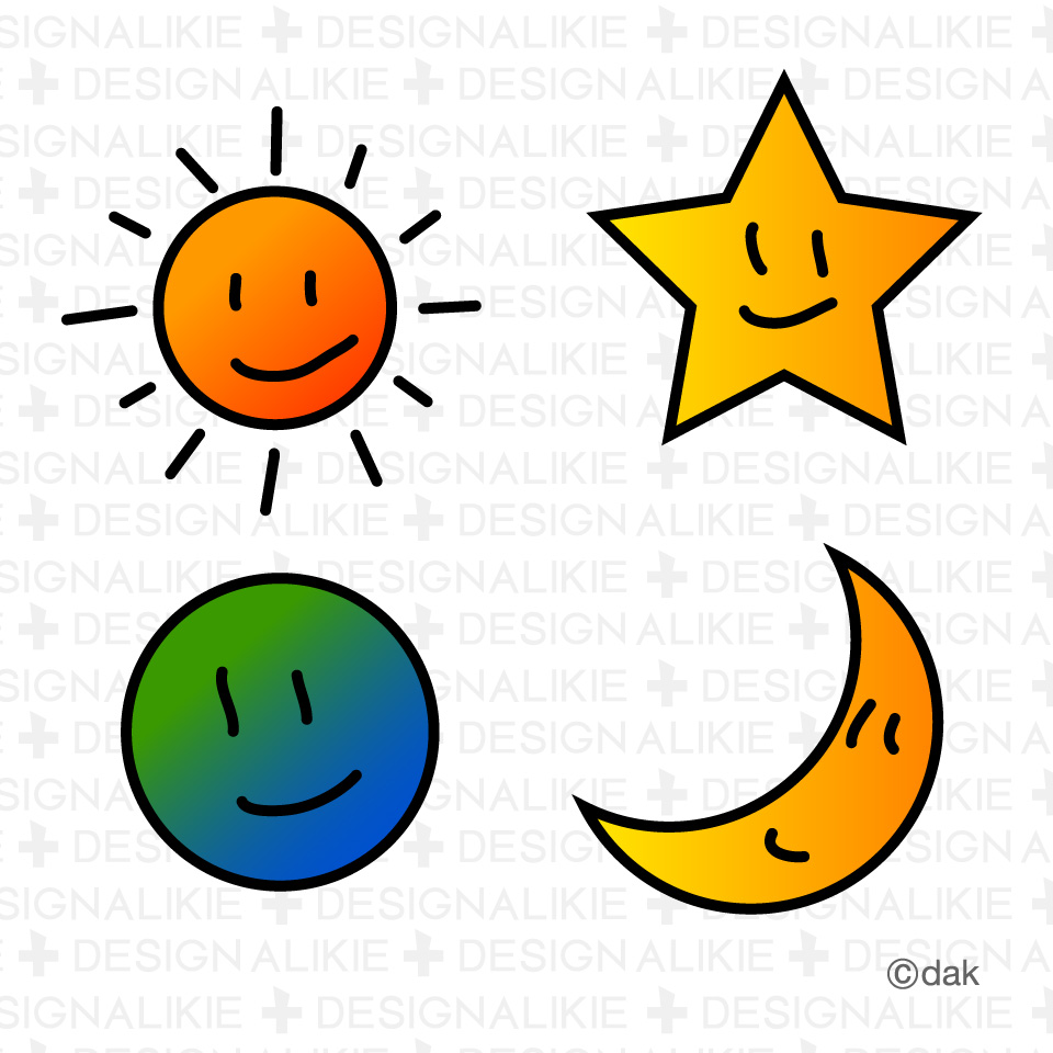Moon and free download. Clipart sun stars
