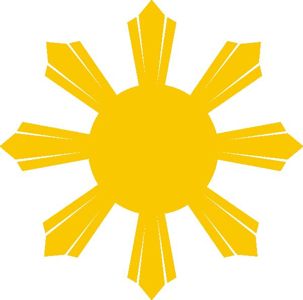 Philippine clip art at. Clipart sun stars