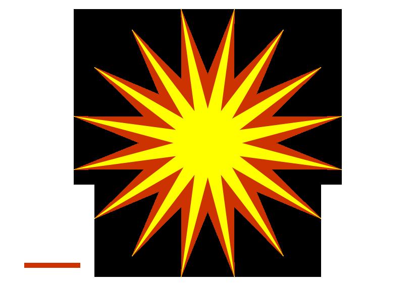 Clipart sun stars. Raster star ghosting download