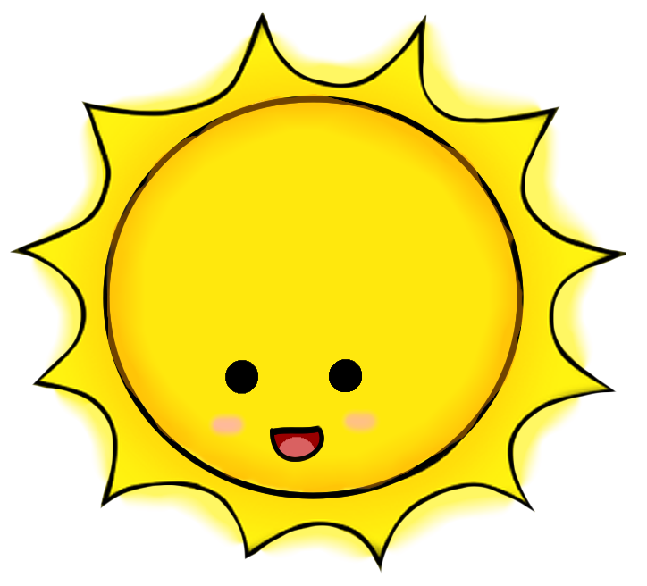 Cute clipart sun. Sunshine cliparts free download