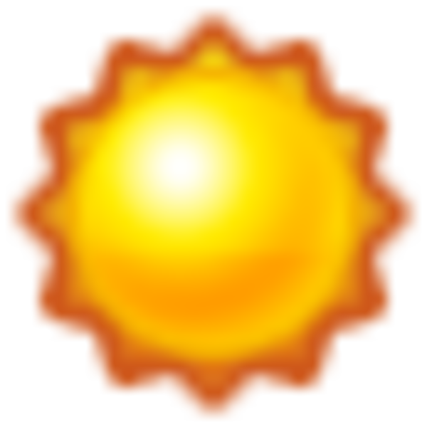 Wednesday clipart sunny. Day sun icon free