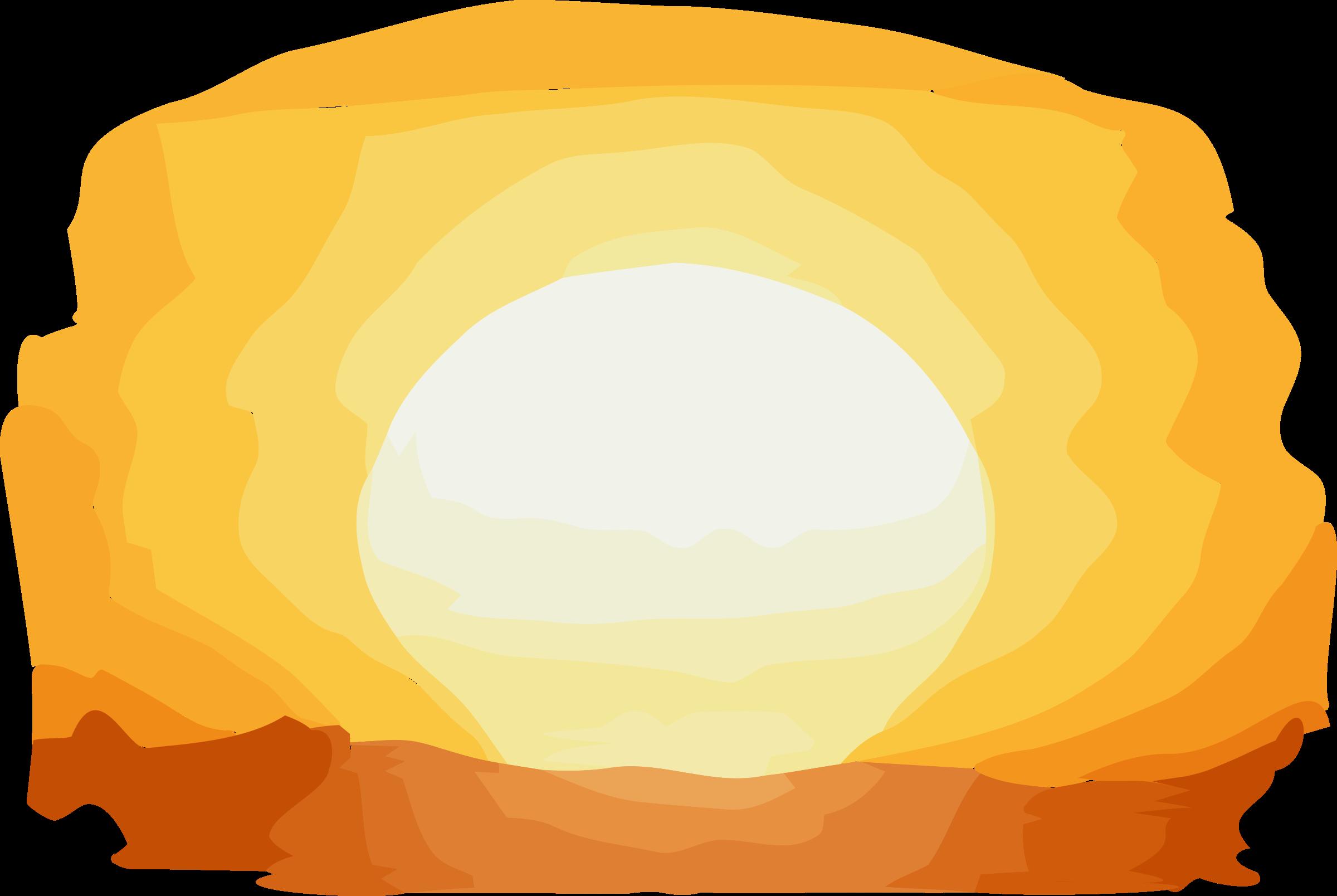 sunset clipart illustration