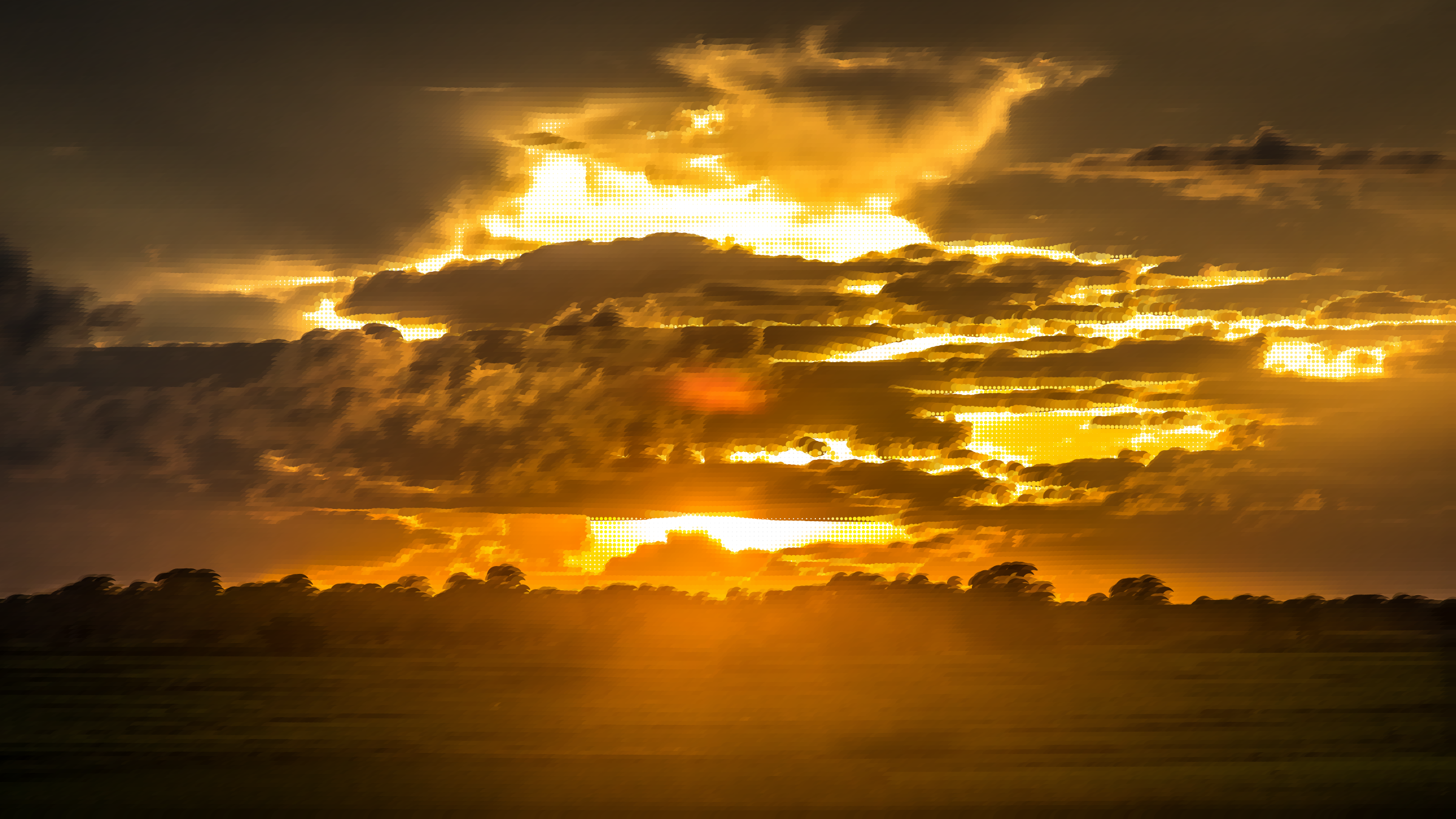 Surreal charred sky big. Sunset clipart sunset landscape