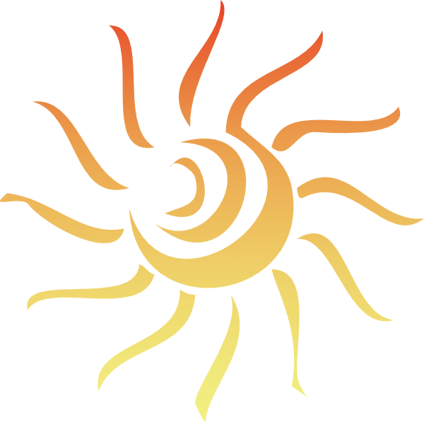 Sun clip art at. Library clipart background