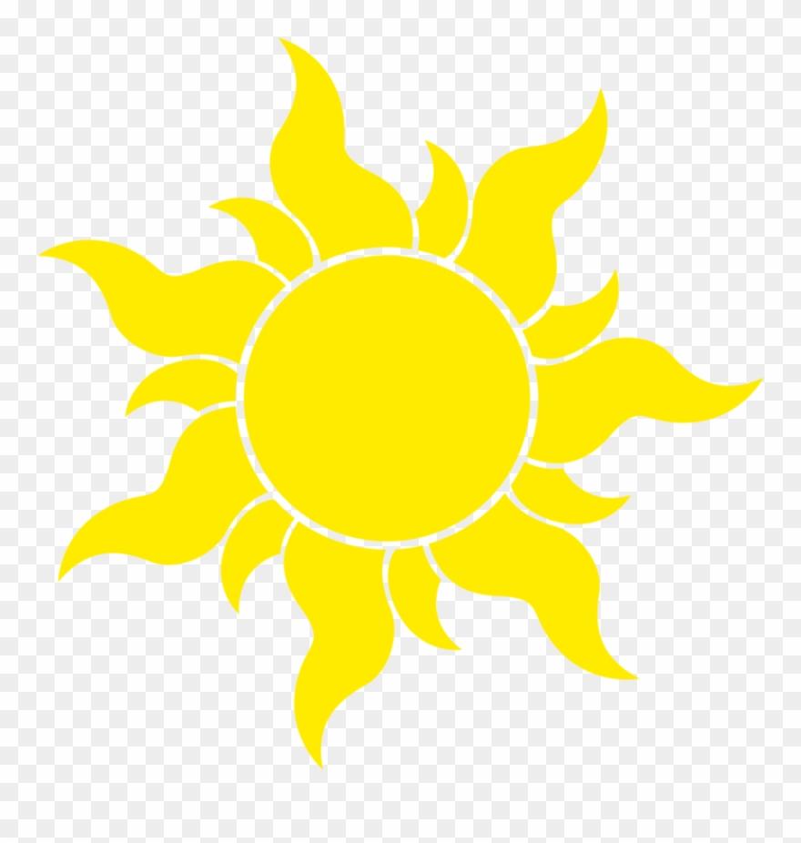 Clipart sun tangled. Transparent background symbol huge