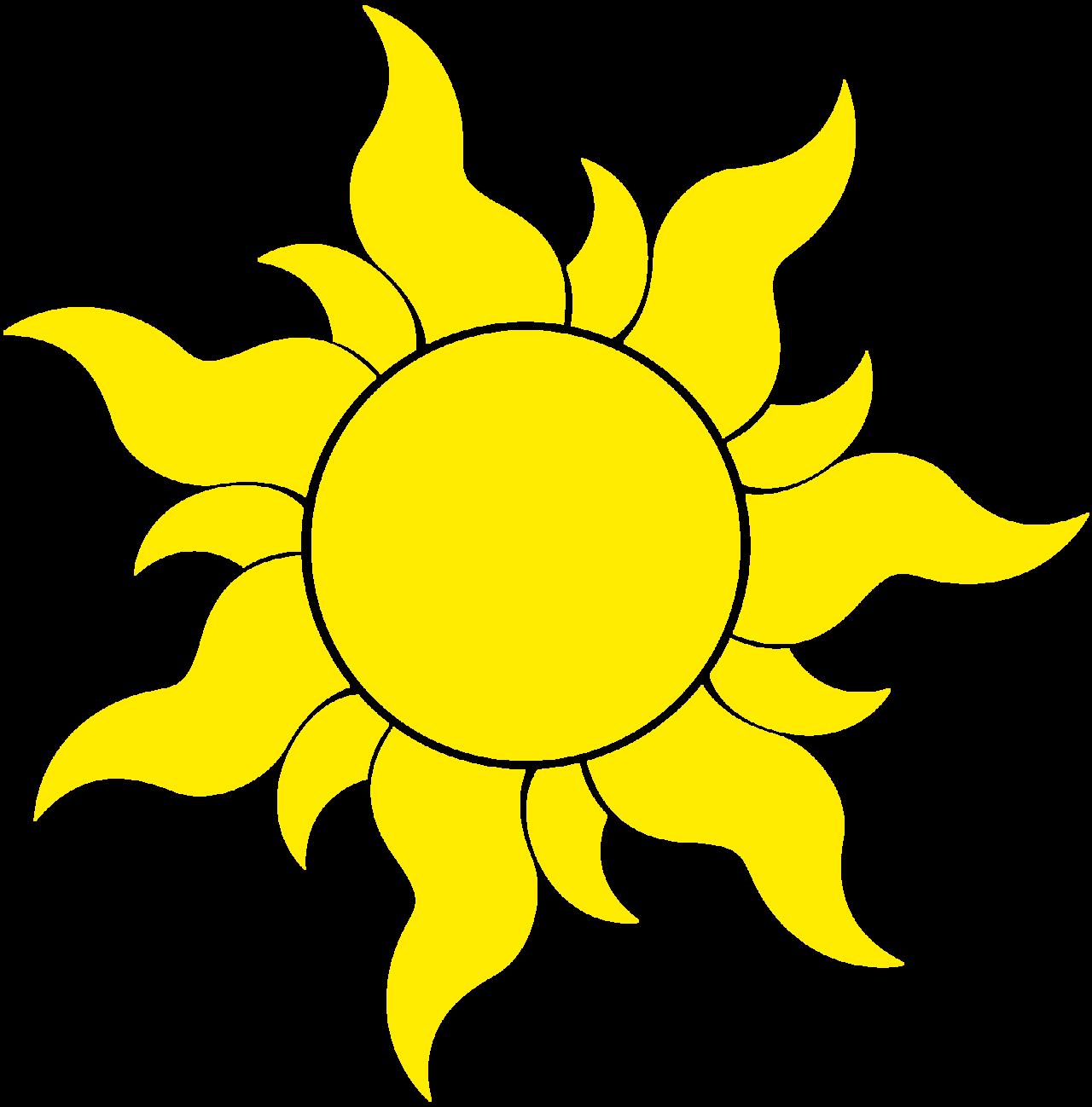Sun tangled
