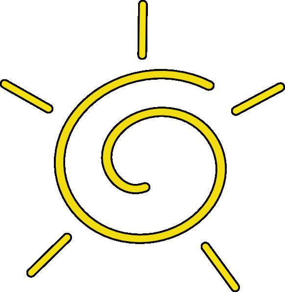 Clip art at clker. Clipart sun translucent