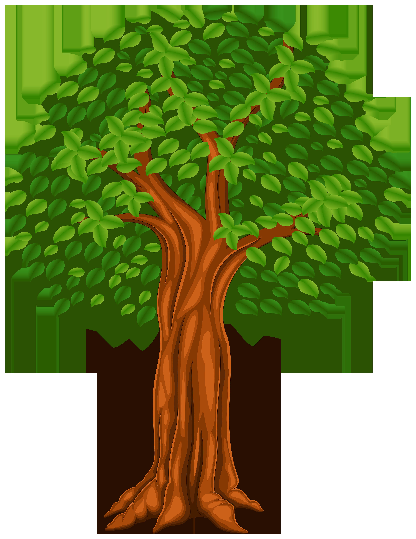 Clipart trees birthday. Tree cartoon png clip