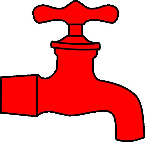 Clipart sun water. Faucet clip art at