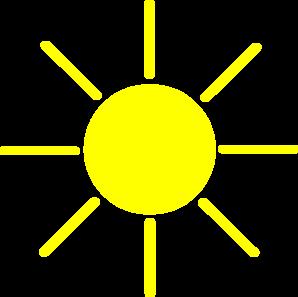 Clip art at clker. Clipart sun yellow