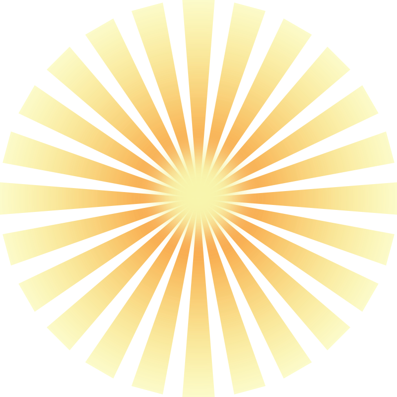 Bright yellow sun clip. Lamp clipart coloring page