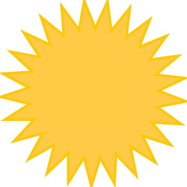 Clipart sun yellow. Golden clip art at