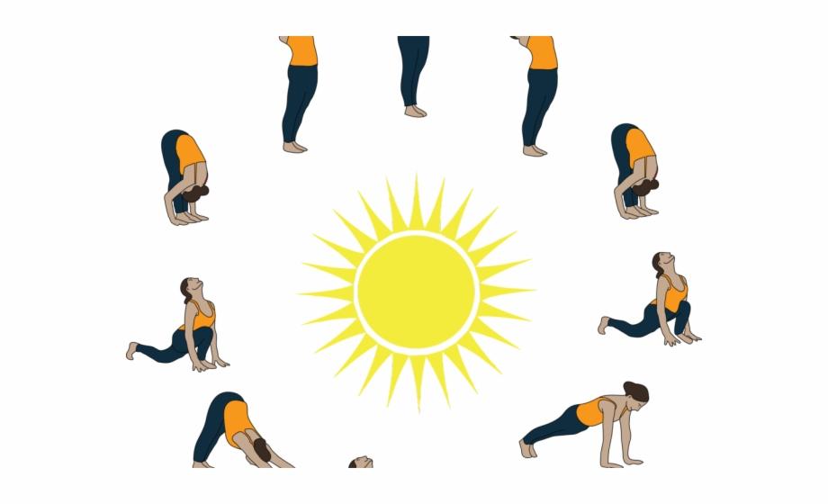 Bastar art iron handicrafts. Clipart sun yoga