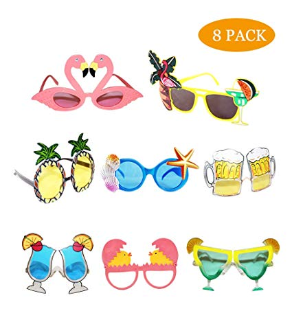 Funny novelty party creative. Sunglasses clipart beach toy