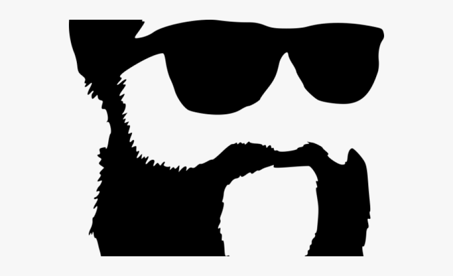 Hipster free png . Sunglasses clipart beard boy