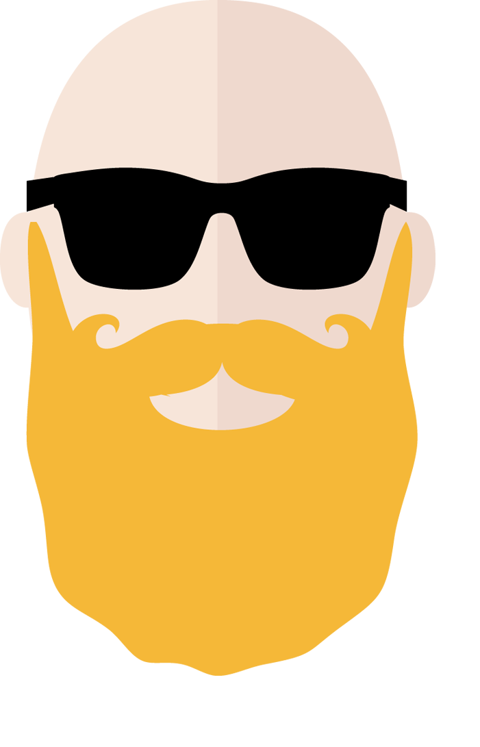 clipart sunglasses beard face