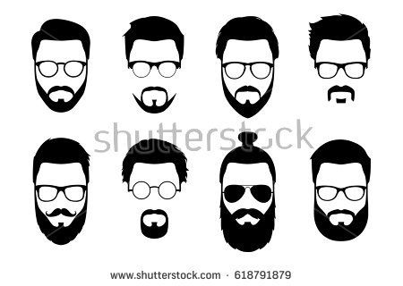 Pin on h . Clipart sunglasses beard face