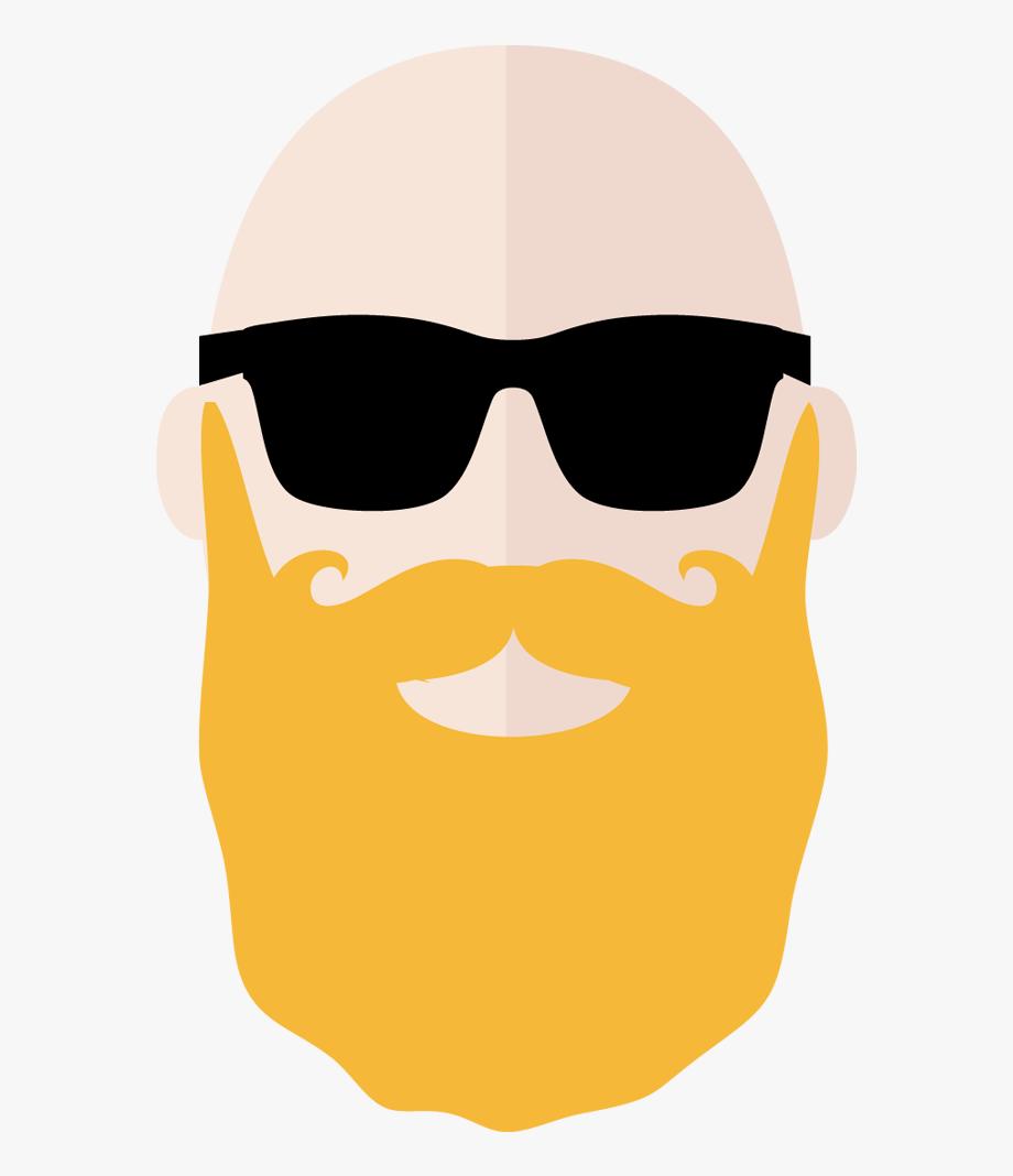 Clipart sunglasses beard face. Cliparts cartoons jing fm