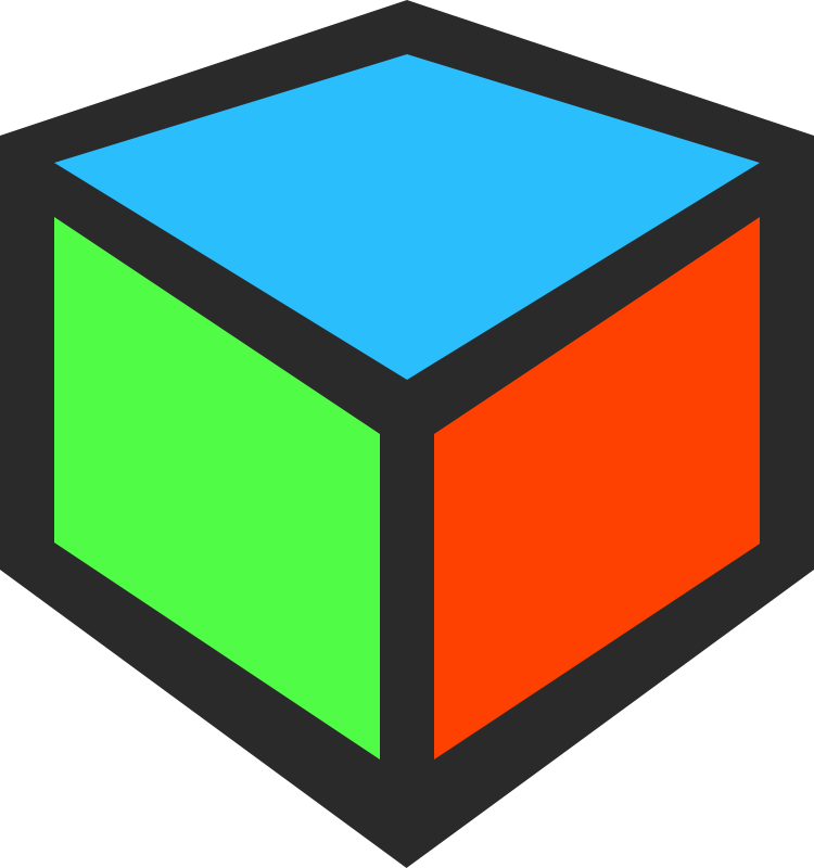 cube clipart connector
