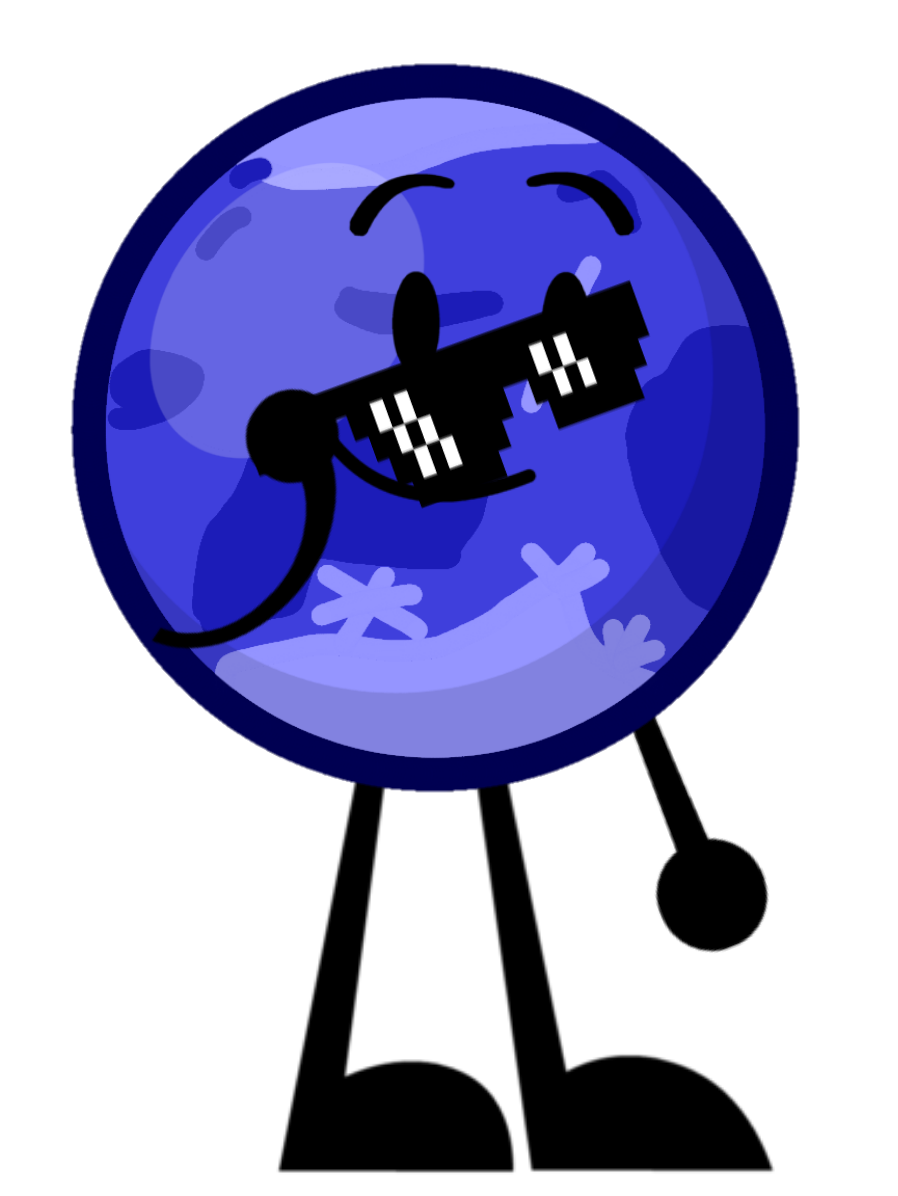 Ganymede object shows community. Clipart sunglasses bfdi