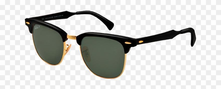 Ray ban aluminum . Sunglasses clipart clubmaster