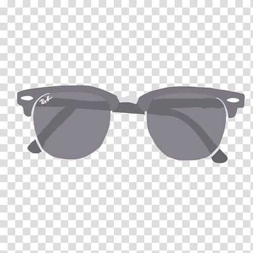Sunglasses clipart clubmaster. Overlays black framed ray