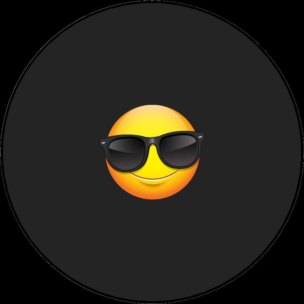 Vinyl record full size. Clipart sunglasses cool guy