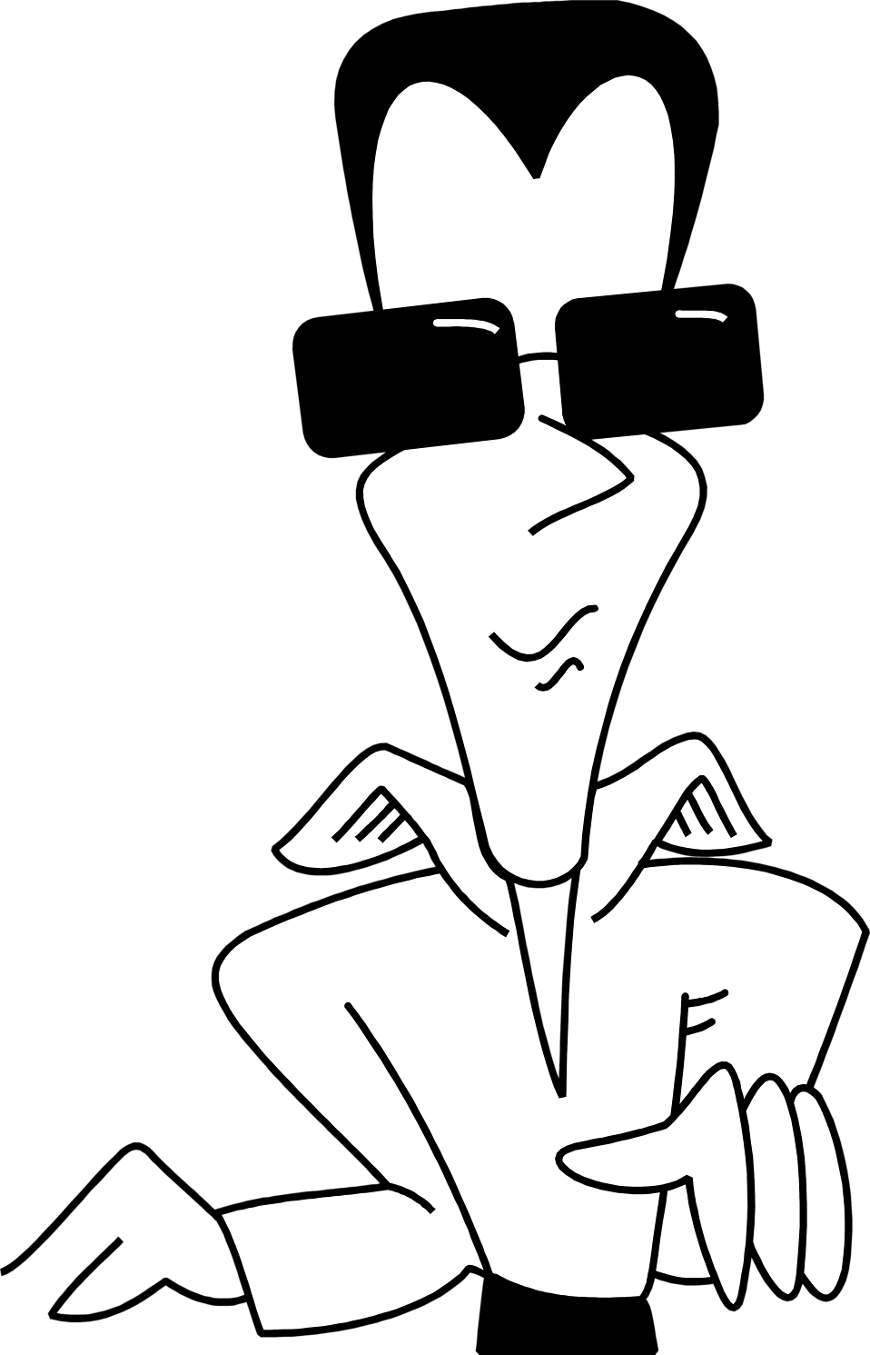 collection of drawing. Clipart sunglasses cool guy