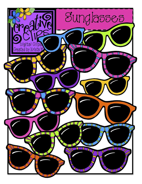 Clipart sunglasses day. The creative chalkboard for