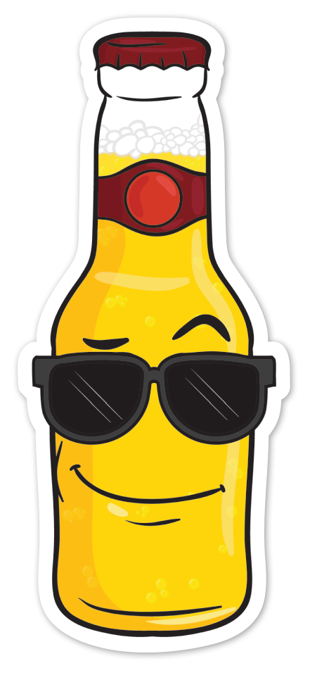 Get ready for summer. Sunglasses clipart emoji