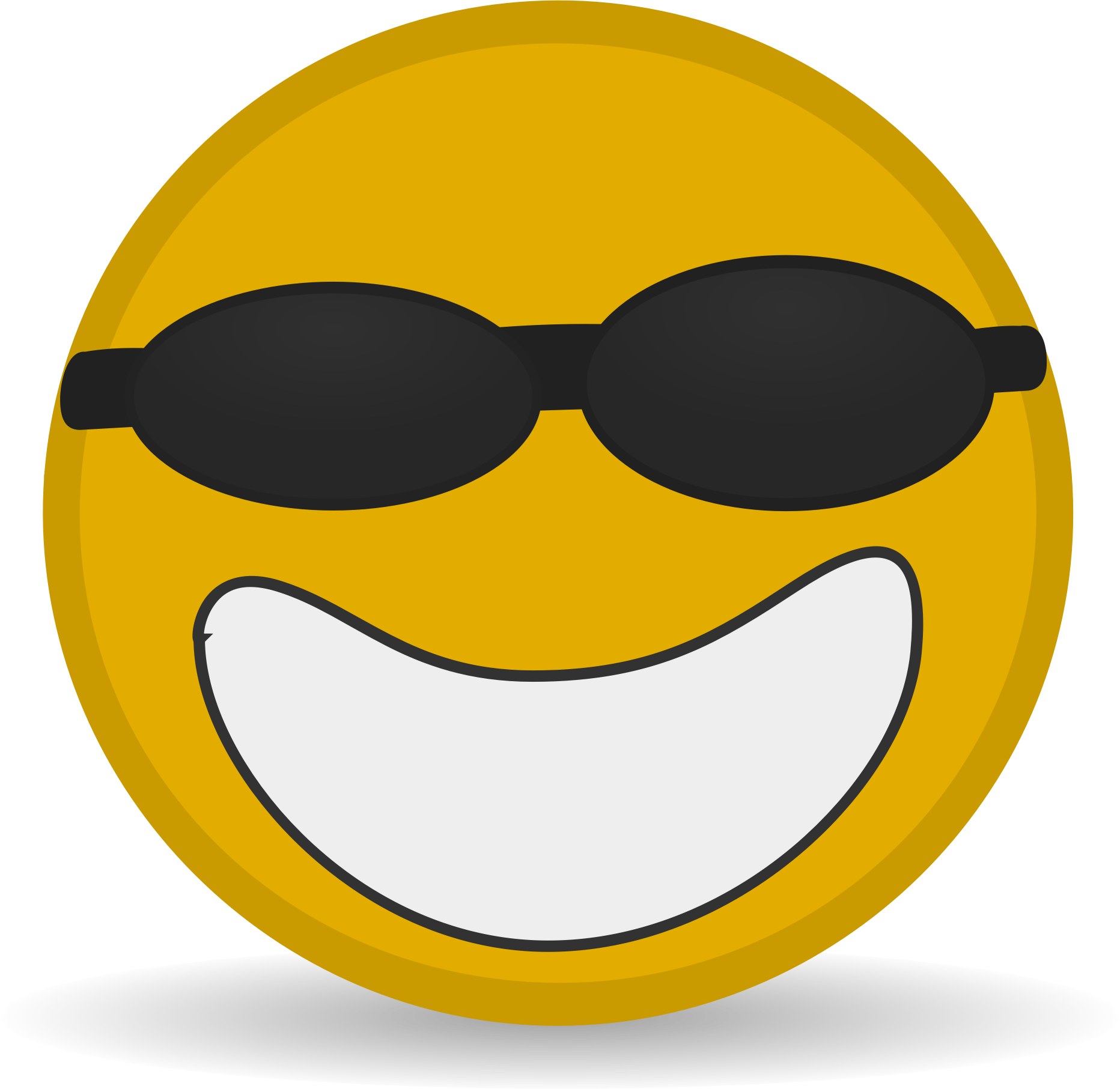 Cool icon big image. Taste clipart face